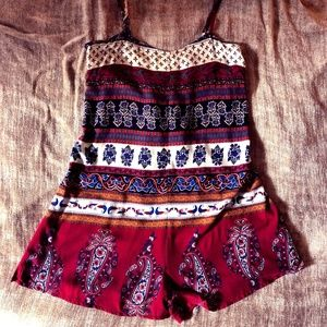 Urban Outfitters Staring at Stars Romper XS